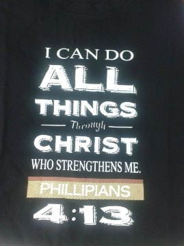 I CAN DO ALL THINGS TEE SHIRT