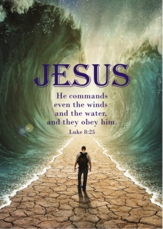 JESUS... HE COMMANDS EVEN THE WINDS