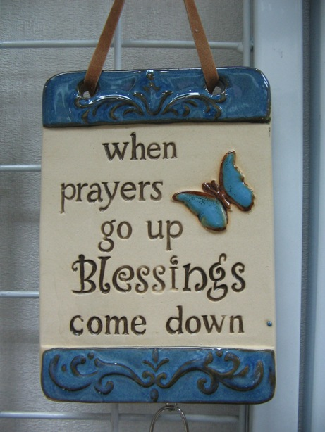 When Prayers goes up Blessing come down