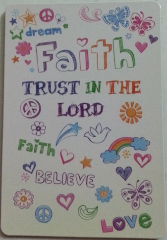Dream Faith Trust in the Lord