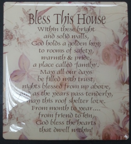 Bless this house*2