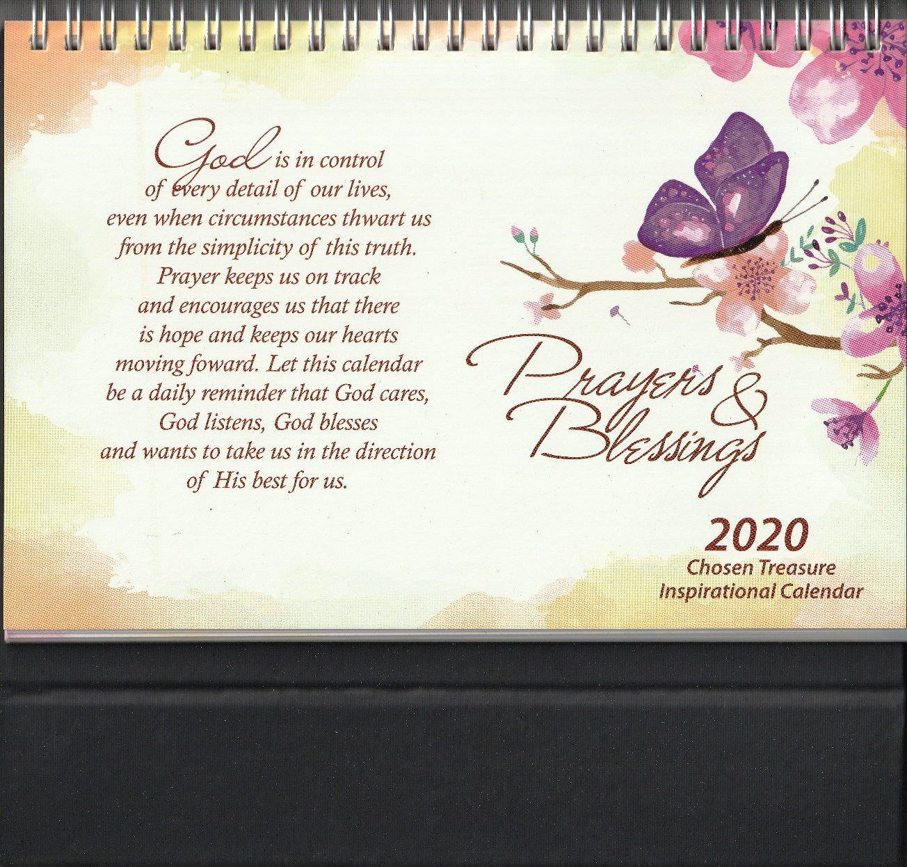 2020 TABLE TOP CALENDAR PRAYERS