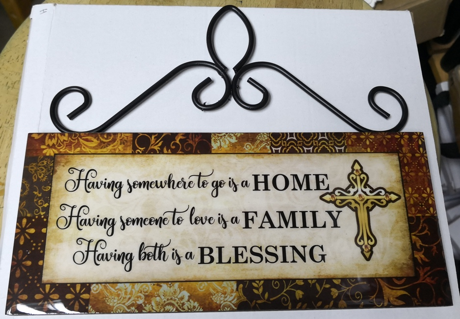 Epoxy Long HOME FAMILY BLESSING